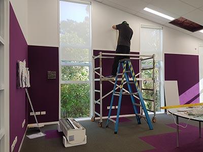 Verran Primary School aircon install work