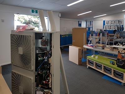 Verran Primary School aircon install